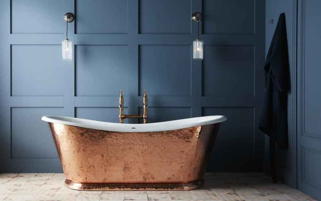 How to Clean & Maintain Your Copper Bathtub