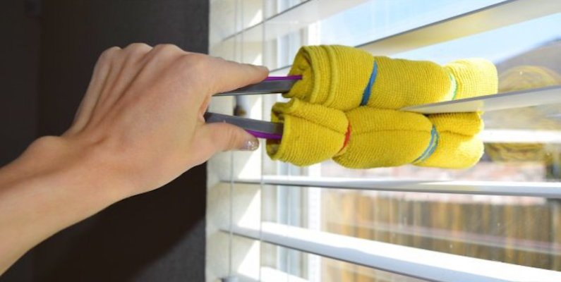 How to Clean Your Blinds with Minimum Hassle
