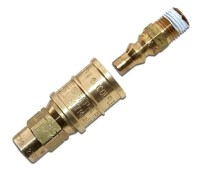 Propane Hose 1/4 in. Quick-Connect Fitting Set