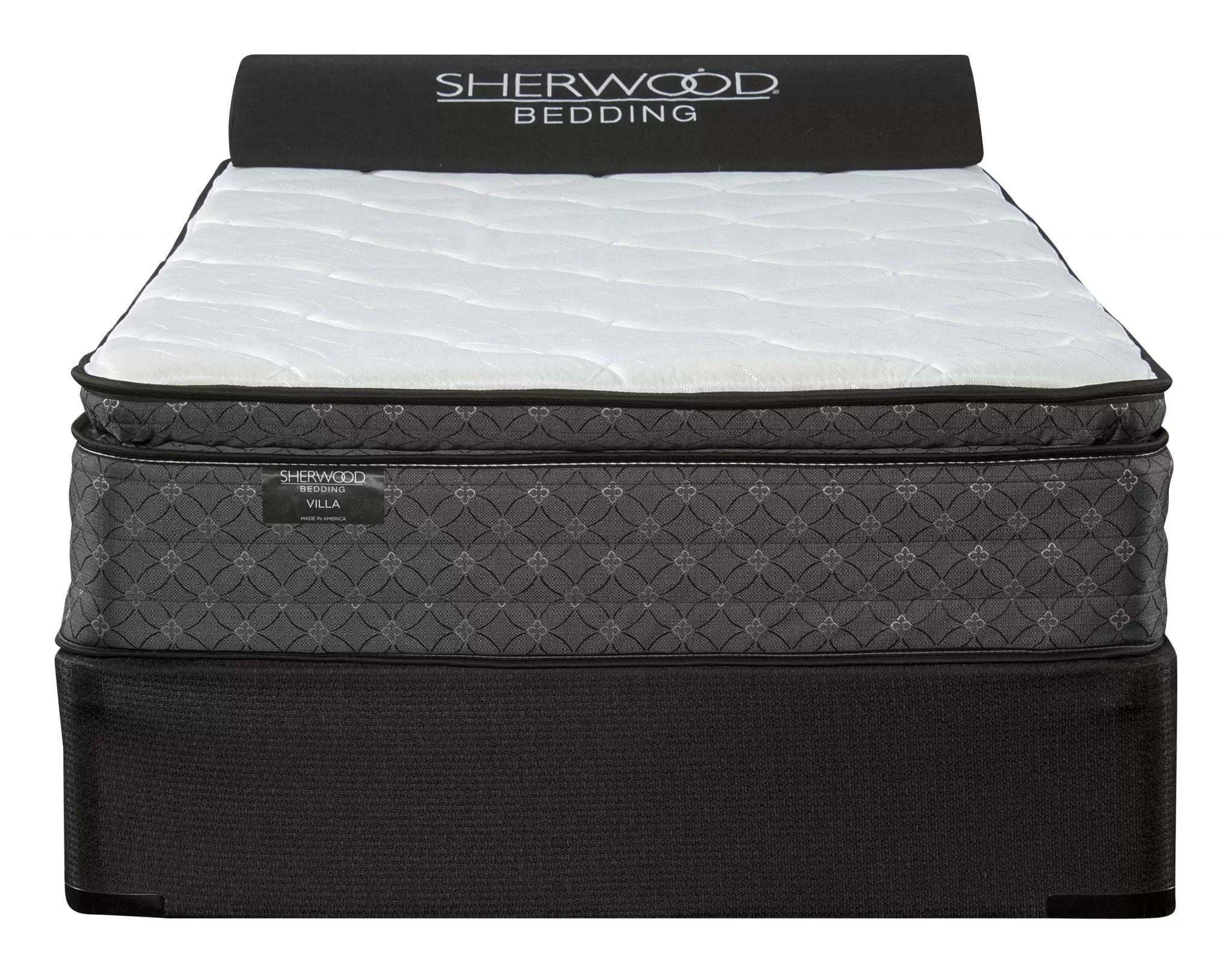 sherwood villa pillow top mattress