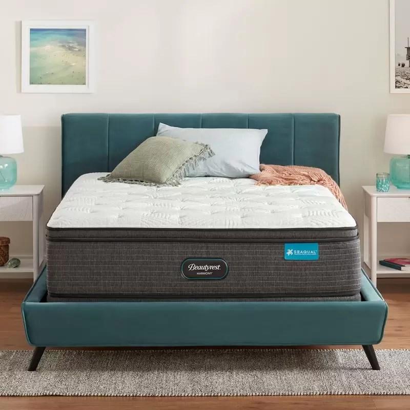 beautyrest freemont plush pillow top mattress