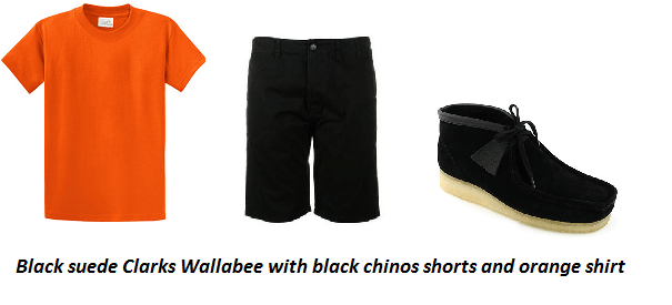 3 Stylish ways to Wear Clarks Wallabee Suede Shoe with Shorts; Style Tips for Men
