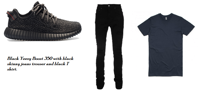 4 stylish ways to wear Adidas Yeezy boost 350 with jeans trouser