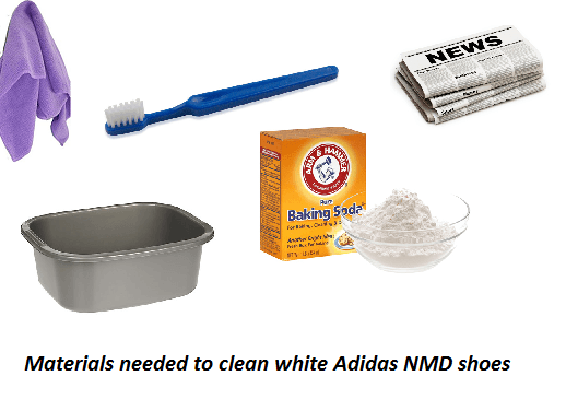 How to Clean White Adidas NMD Shoes