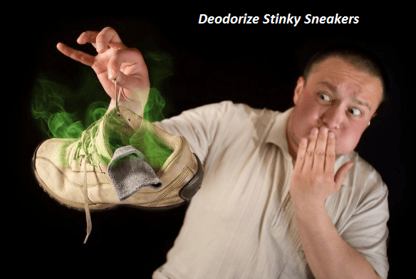 How to Deodorize Stinky Sneakers with Baking Soda
