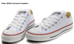 How to Clean White Converse Sneakers by Hand
