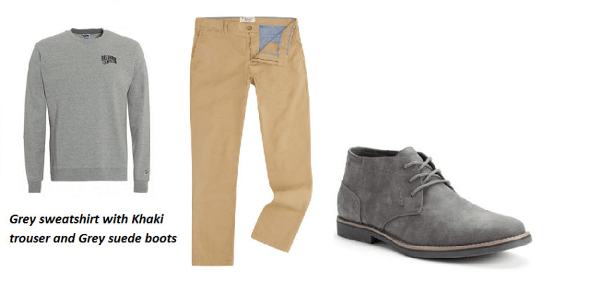 What to Wear Grey Suede Boots with