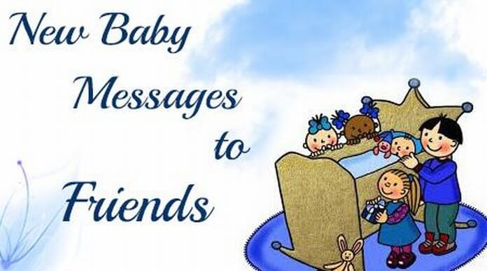 new baby messages to
