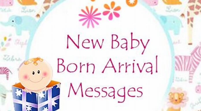 new born baby arrival