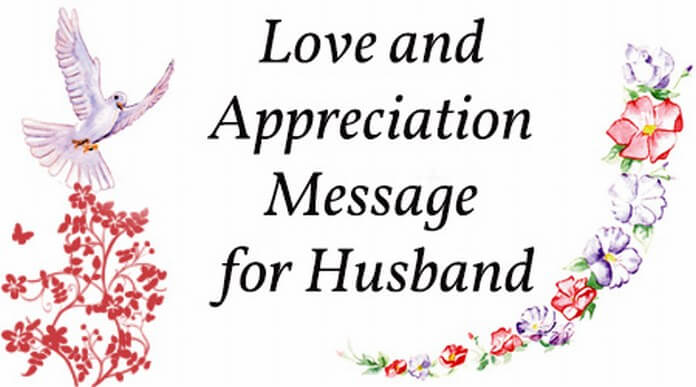 Appreciation Messages One Love