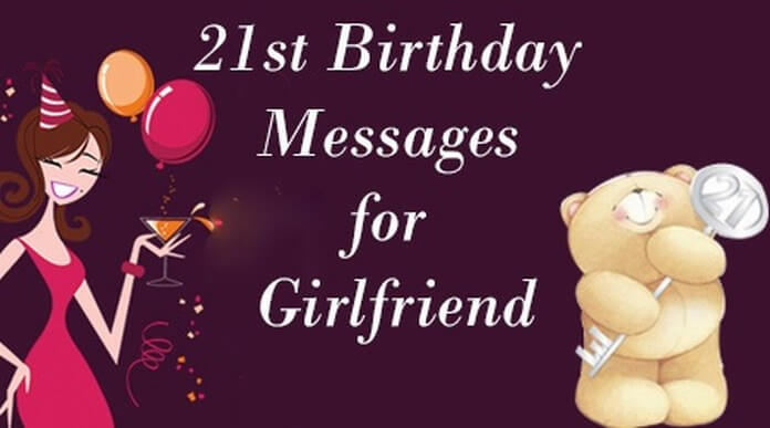 21st birthday messages for