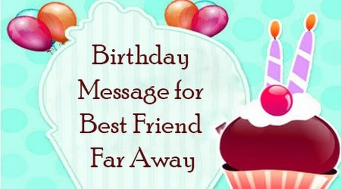 birthday message for best