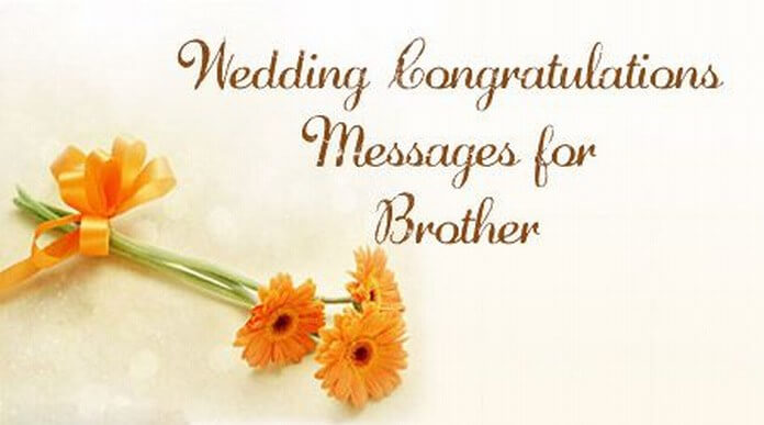 wedding congratulations messages for