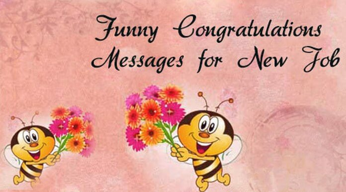 funny congratulations messages for
