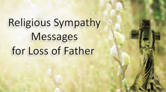 religious sympathy messages for