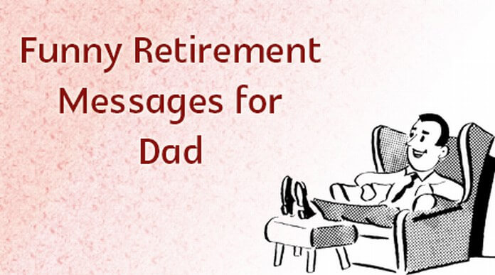 funny retirement messages for