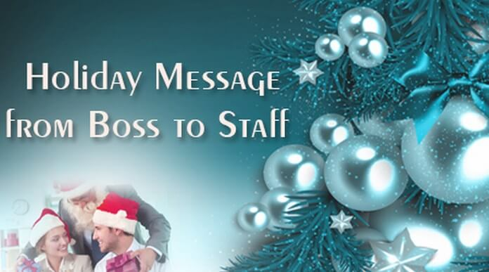 Holiday Messages For Kids Sample Message