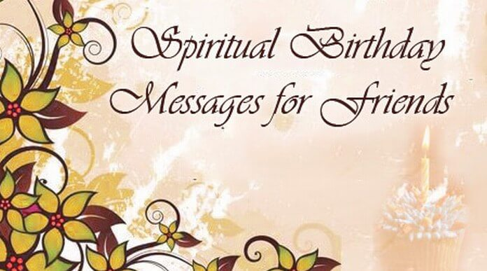 spiritual birthday messages for