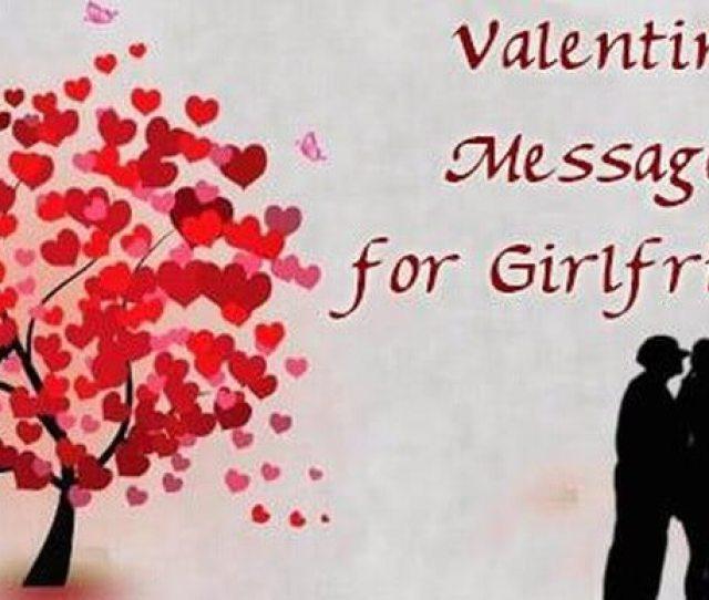 Sewwt Valentine Day Message For Girlfriend