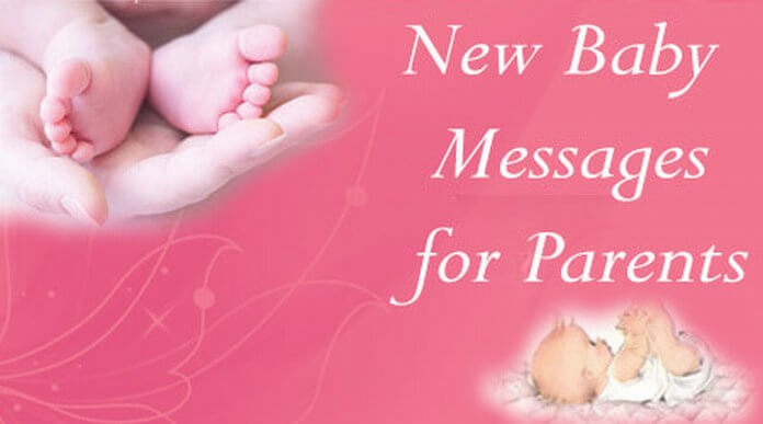 new born baby messages