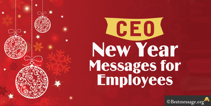 CEO New Year Messages For Employees End Of The Year Message
