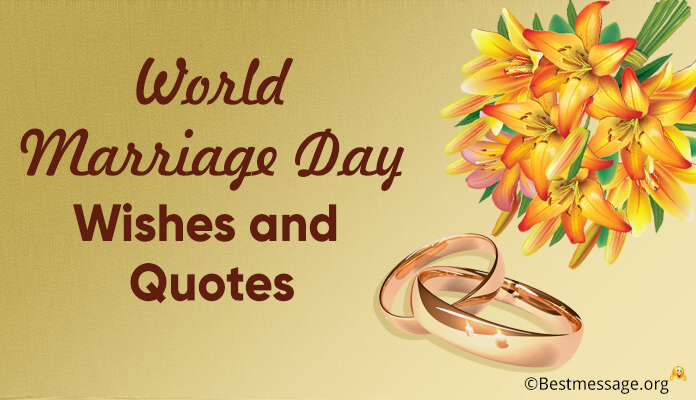 World Marriage Day Wishes And Quotes Wedding Anniversary Messages