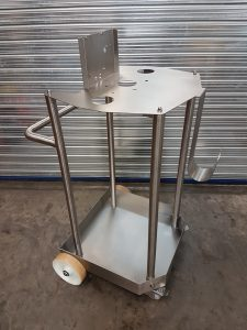 Stainless Steel Pump and Drum Trolley