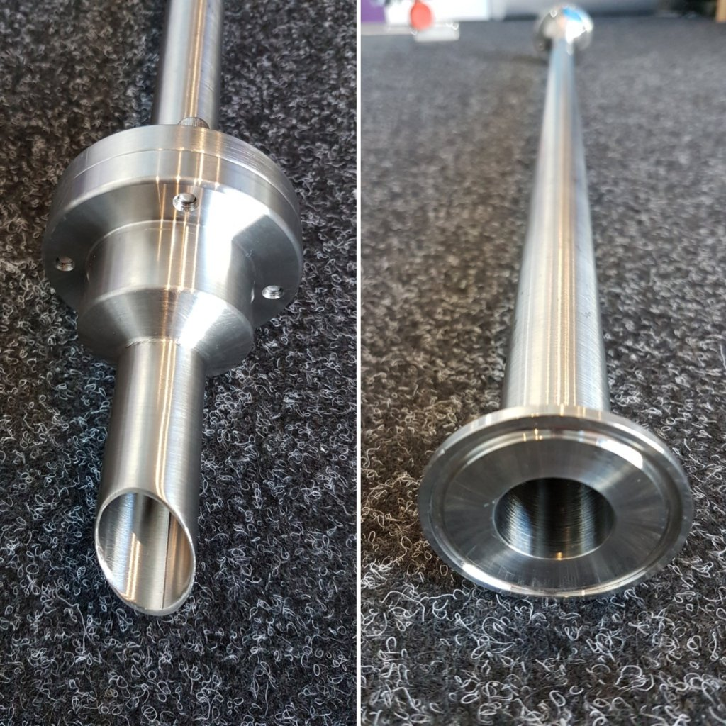 Stainless Steel Suction Lance with NRV