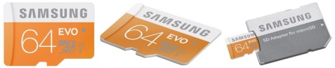 Samsung micro sd card 64 GB-horz