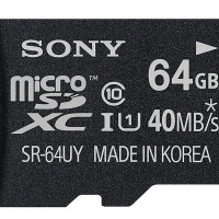 Sony memory card 64 GB