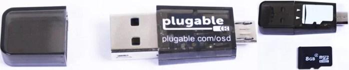 Plugable USB micro SD Card Reader