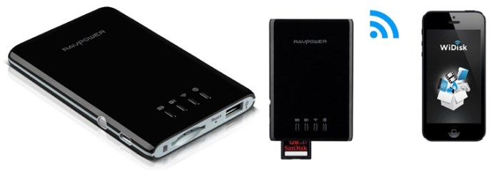RAVPower FileHub Wireless SD card reader
