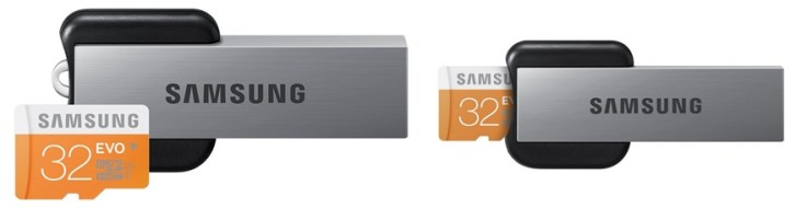 Samsung EVO 32 GB micro SDHC card with card reader