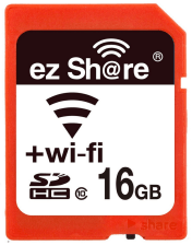ezShare 2nd Generation New Wi-Fi SDHC 16 GB Memory card