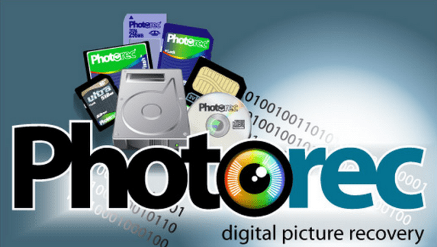 PhotoRec software