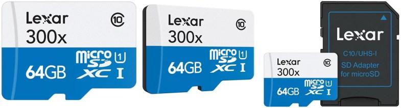 Lexar High-Performance micro SDHC