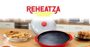 use the Reheatza microwave crisper