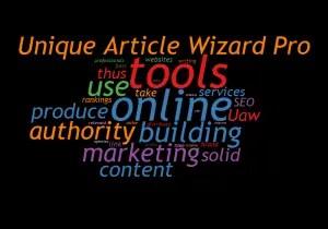 Unique Article Wizard Pro