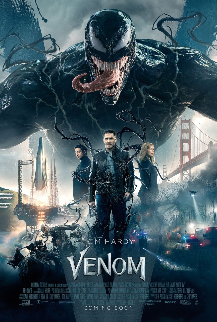 venom movie poster click