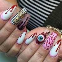 TRENDING: 66 Best Halloween Nail Art Designs for 2018
