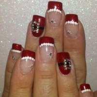 DIY Christmas Nail Art - 50 Christmas Nail Designs You Can ...