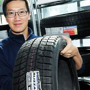 Bridgestone Blizzak WS80 Winter Radial Tire