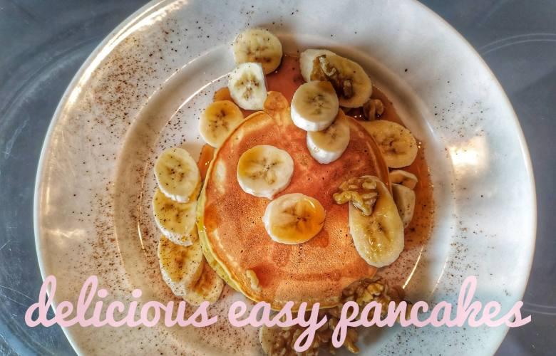 Γευστικά και πανεύκολα pancakes από την Τζένη Παναγοπούλου(vid)