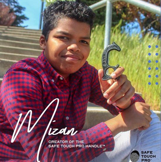 """12χρονος στις ΗΠΑ κατασκεύασε """"ανοιχτήρι πόρτας"""" για την αποφυγή των μικροβίων"""
