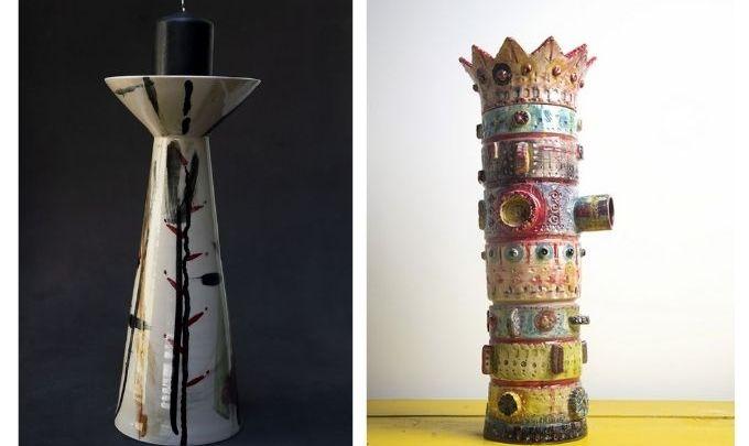 """Έκθεση Λεώνη Γιαγδζόγλου """"Αφηγήσεις από κεραμικές δημιουργίες""""    Art Appel Gallery"""