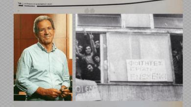 Φώτης Σιούμπουρας: Το Πολυτεχνείο δεν είναι ιδιοκτησία κανενός