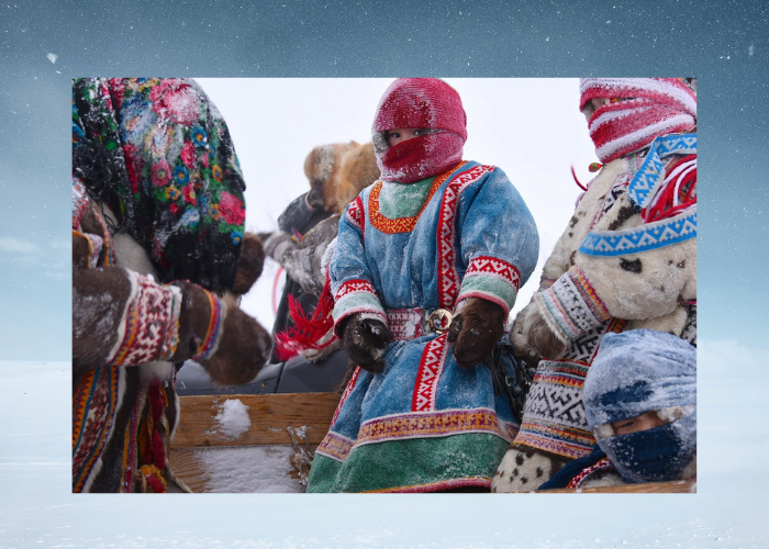στη χερσόνησο Γιαμάλ! Yamal σημαίνει Το τέλος του κόσμου στη γλώσσα των Nenets Εσκιμώων Β Σιβηρίας