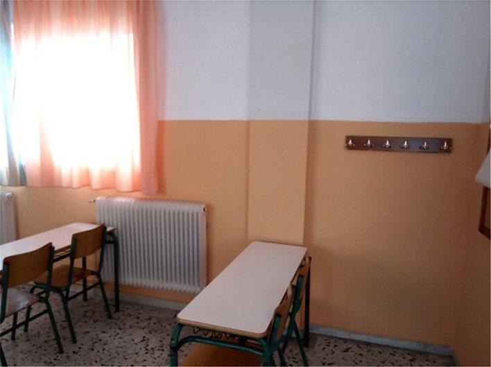Καθαρίστρια στο Βόλο έβαψε ολόκληρο το σχολείο... μόνη της