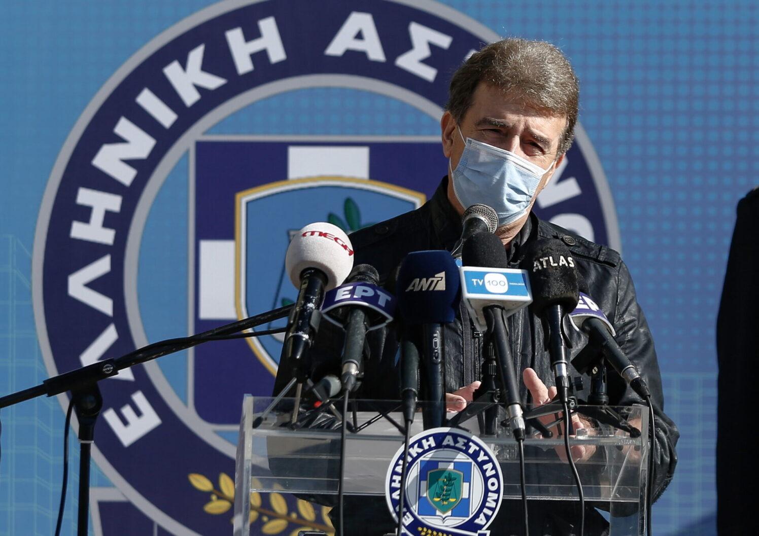 Ελληνική Αστυνομία: Ο Χρυσοχοΐδης παρουσίασε τη «Λευκή Βίβλο»