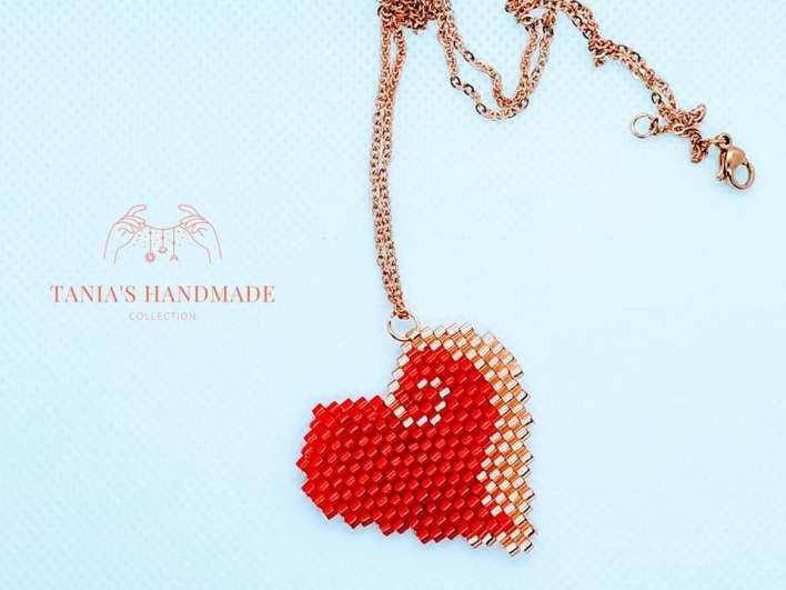 ΔΙΑΓΩΝΙΣΜΟΣ: Κερδίστε ένα χειροποίητο κολιέ καρδιά με χάντρες miyuki